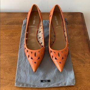 Miu Miu pointed toe heels